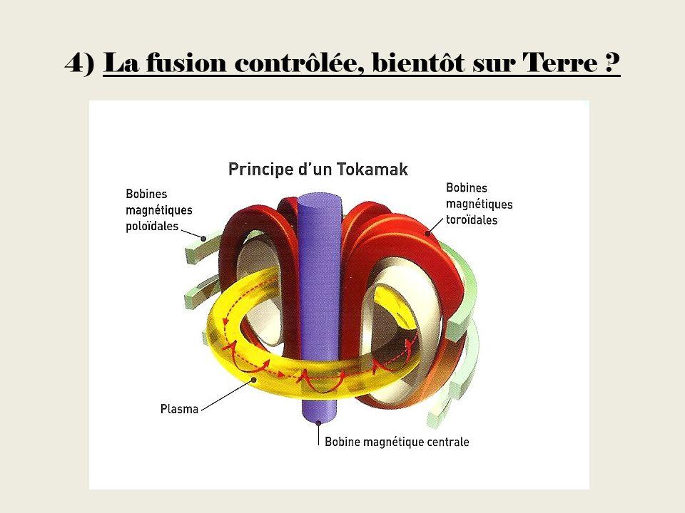 4) La fusion contrôlée, bientôt sur Terre