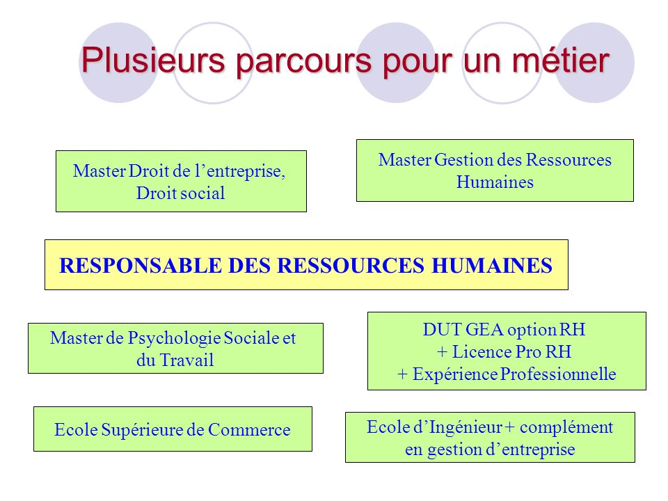 RESPONSABLE DES RESSOURCES HUMAINES