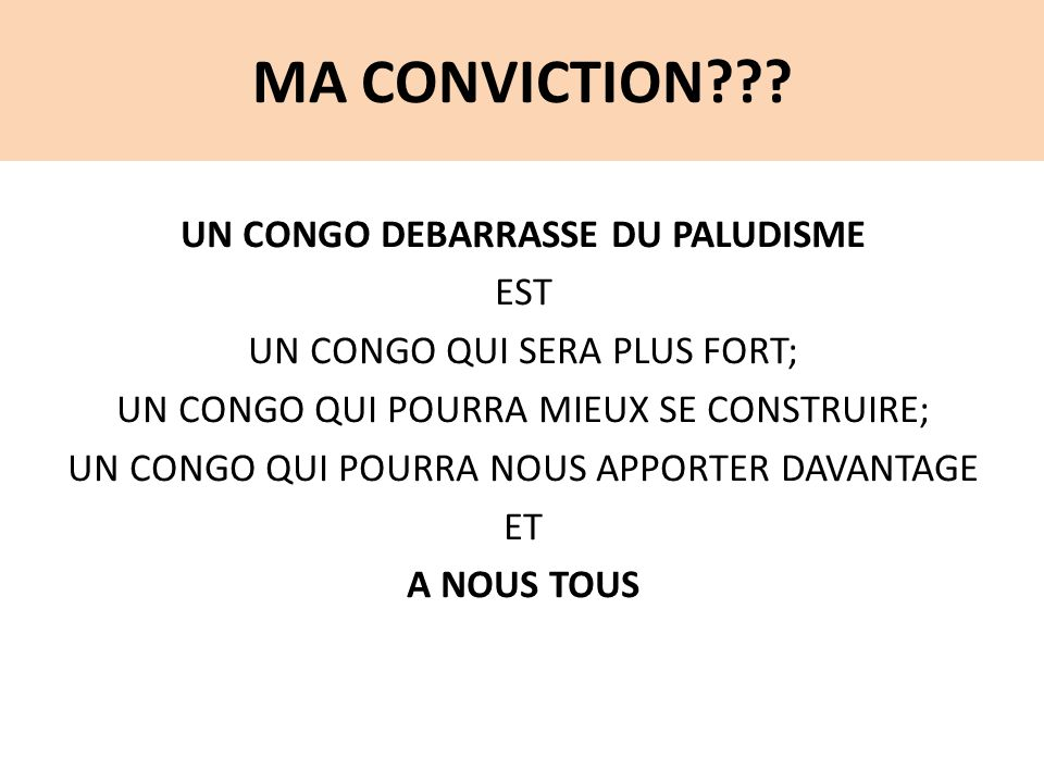 MA CONVICTION