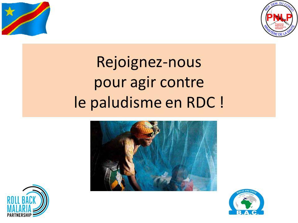 Rejoignez-nous pour agir contre le paludisme en RDC !