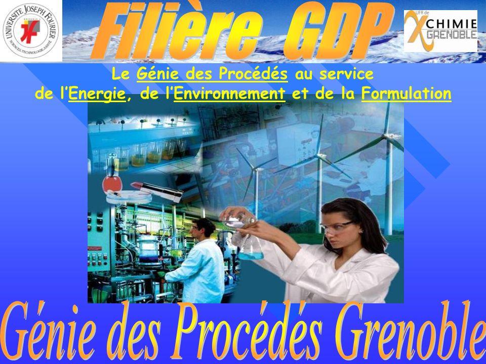 Génie des Procédés Grenoble