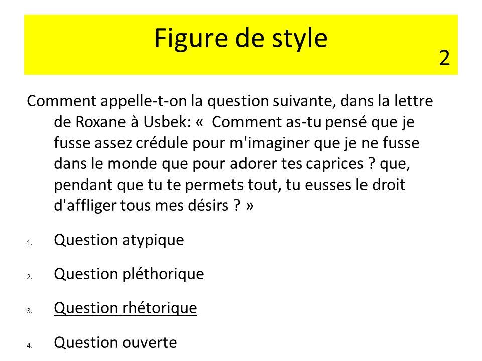 Figure de style 2.