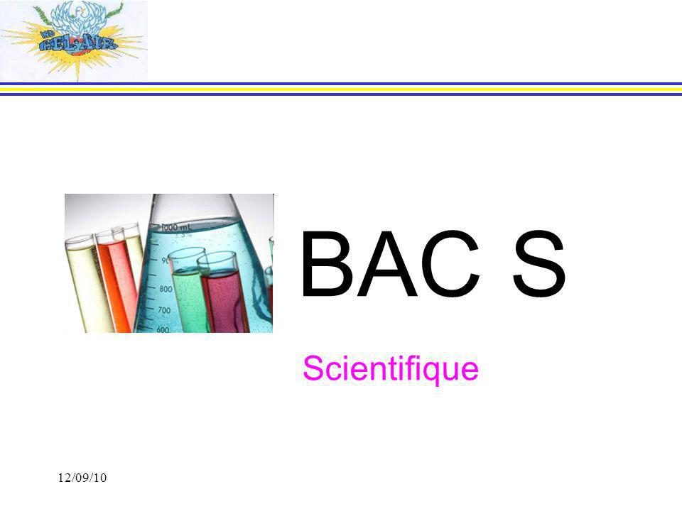 BAC S Scientifique 12/09/10 12