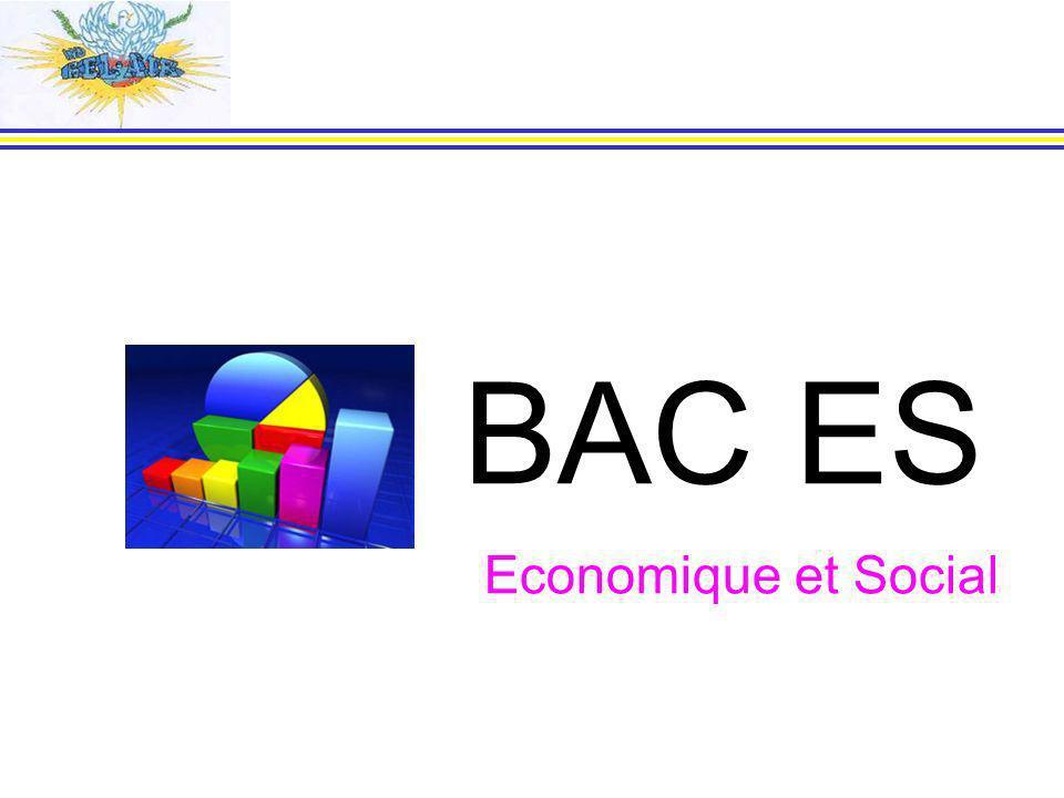 BAC ES Economique et Social