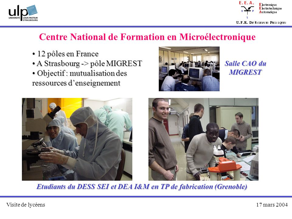 Centre National de Formation en Microélectronique