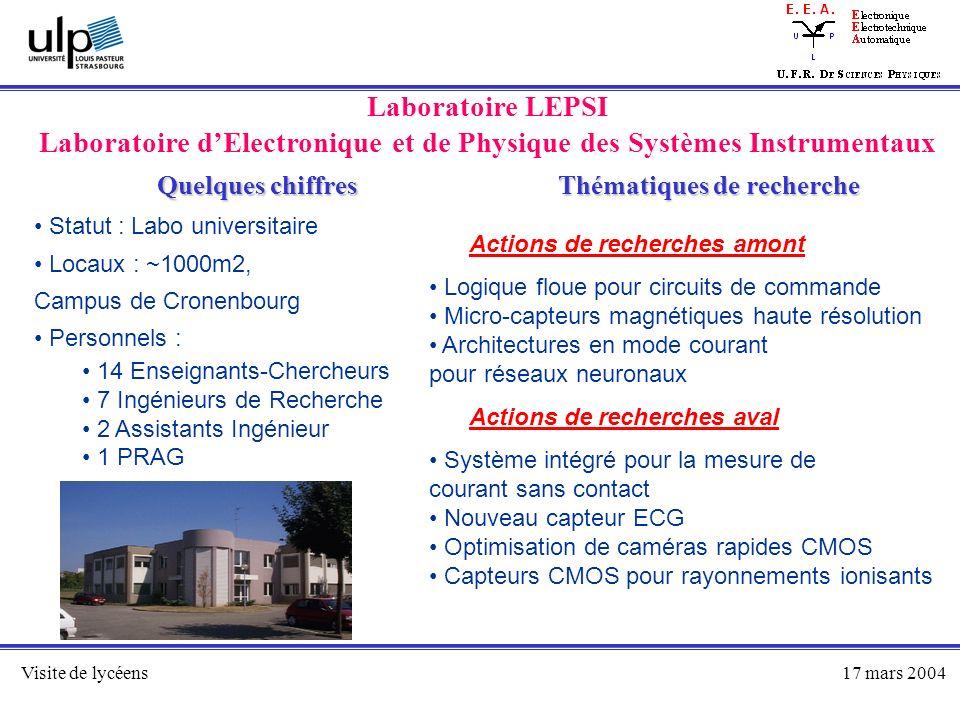 Laboratoire d'Electronique et de Physique des Systèmes Instrumentaux