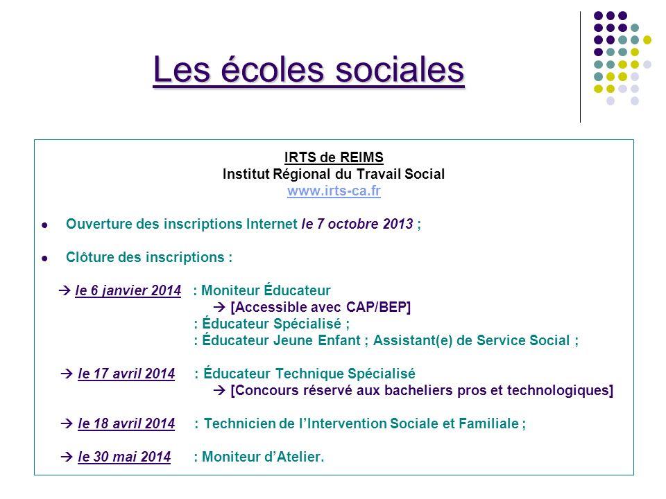 Institut Régional du Travail Social