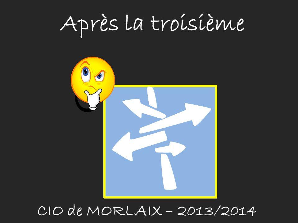 Après la troisième CIO de MORLAIX – 2013/2014