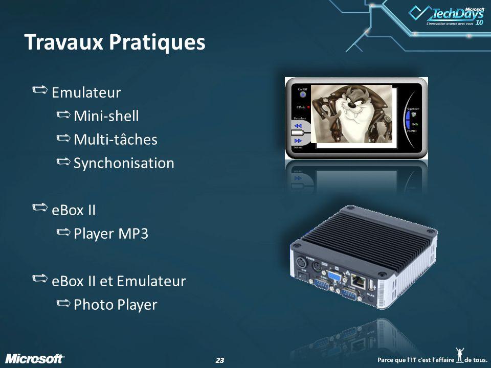 Travaux Pratiques Emulateur Mini-shell Multi-tâches Synchonisation