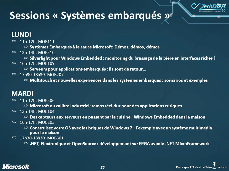 Enseigner l embarqu avec windows embedded ce ppt video - Open office en francais pour windows 7 ...