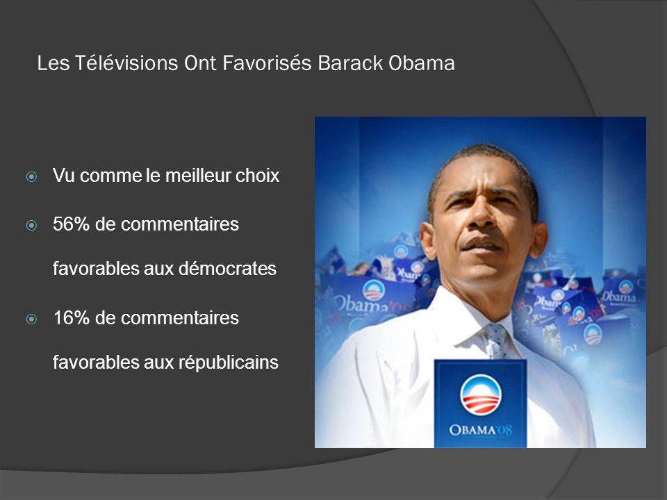 Les Télévisions Ont Favorisés Barack Obama