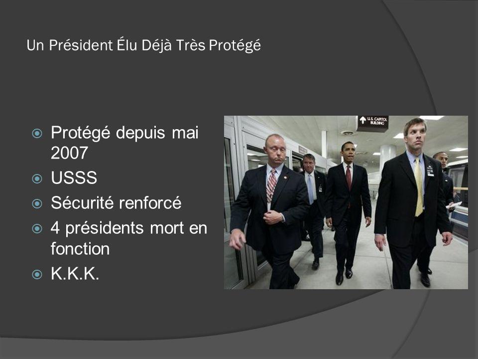 Un Président Élu Déjà Très Protégé