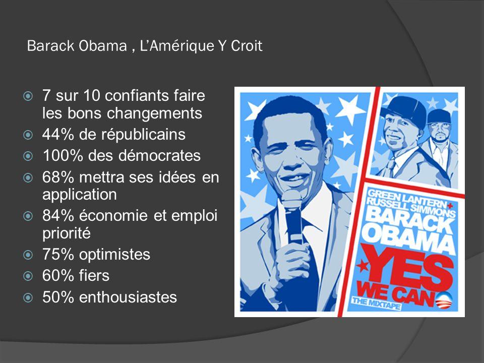 Barack Obama , L'Amérique Y Croit