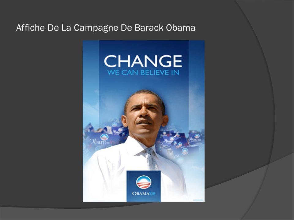 Affiche De La Campagne De Barack Obama
