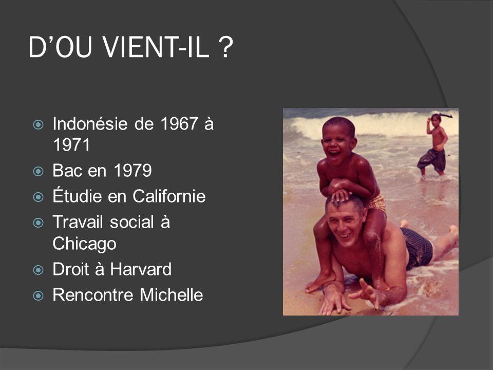 D'OU VIENT-IL Indonésie de 1967 à 1971 Bac en 1979