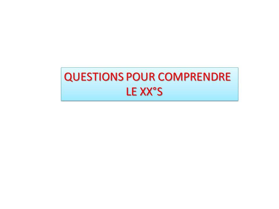 QUESTIONS POUR COMPRENDRE
