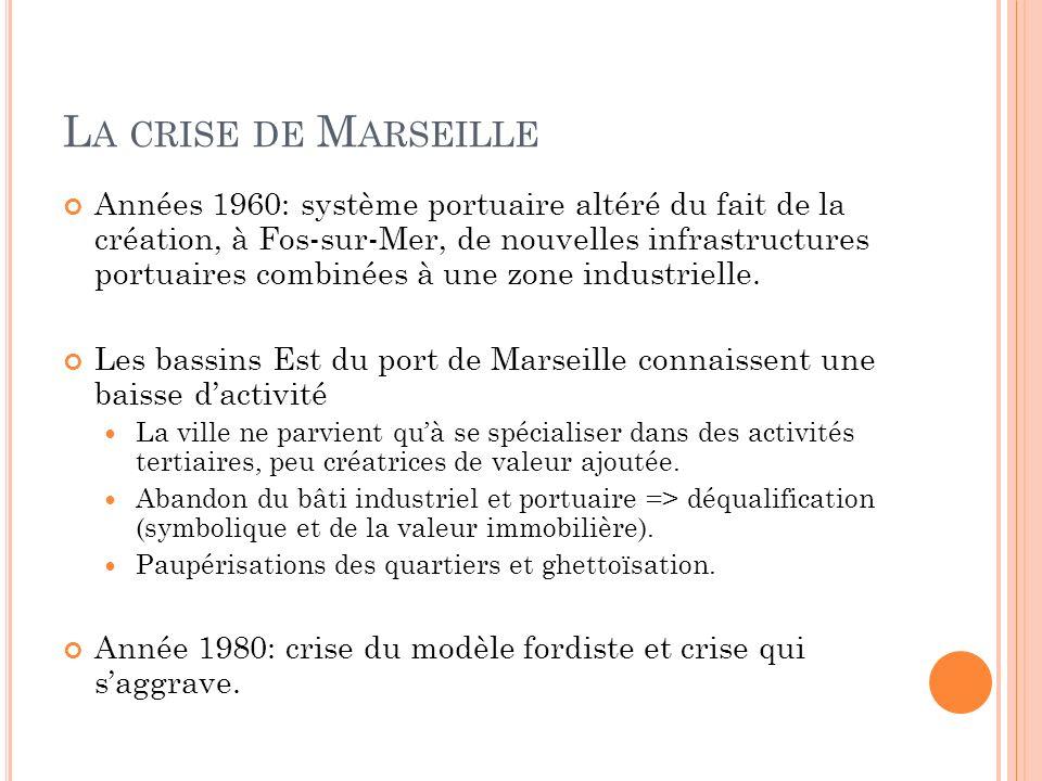 La crise de Marseille