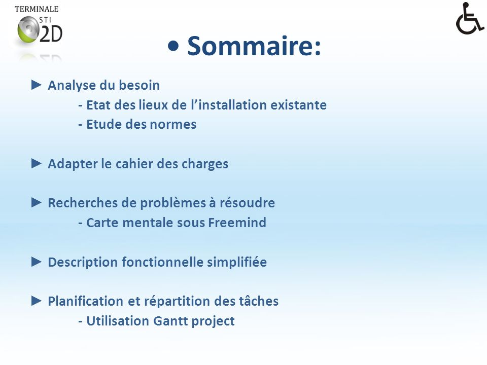 • Sommaire: