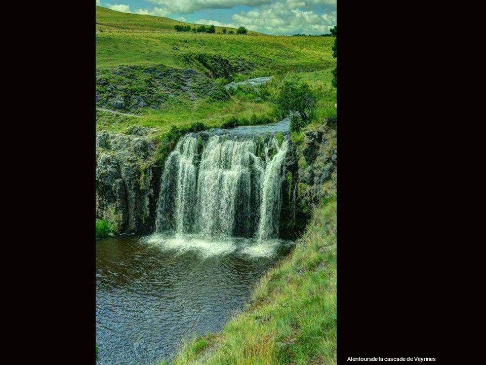 Alentoursde la cascade de Veyrines