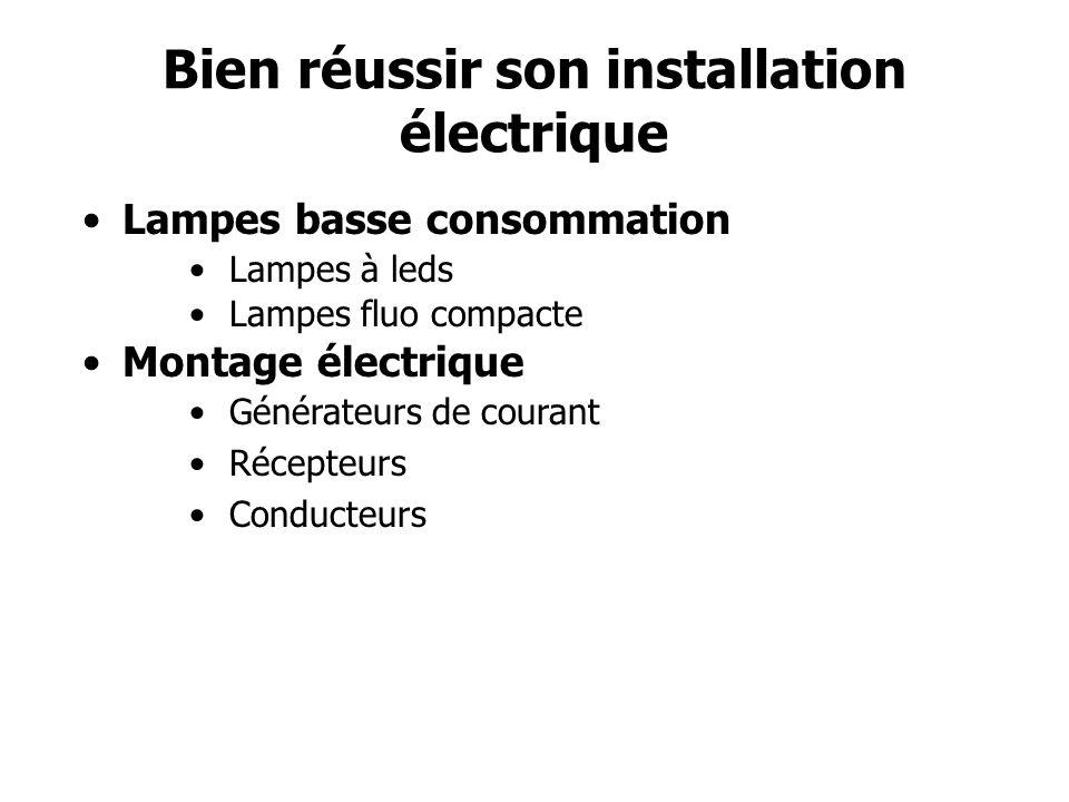 Bien réussir son installation électrique