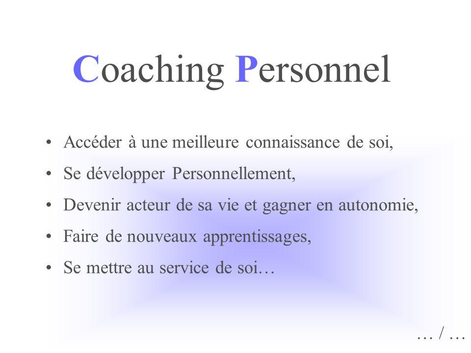 Coaching Personnel Accéder à une meilleure connaissance de soi,
