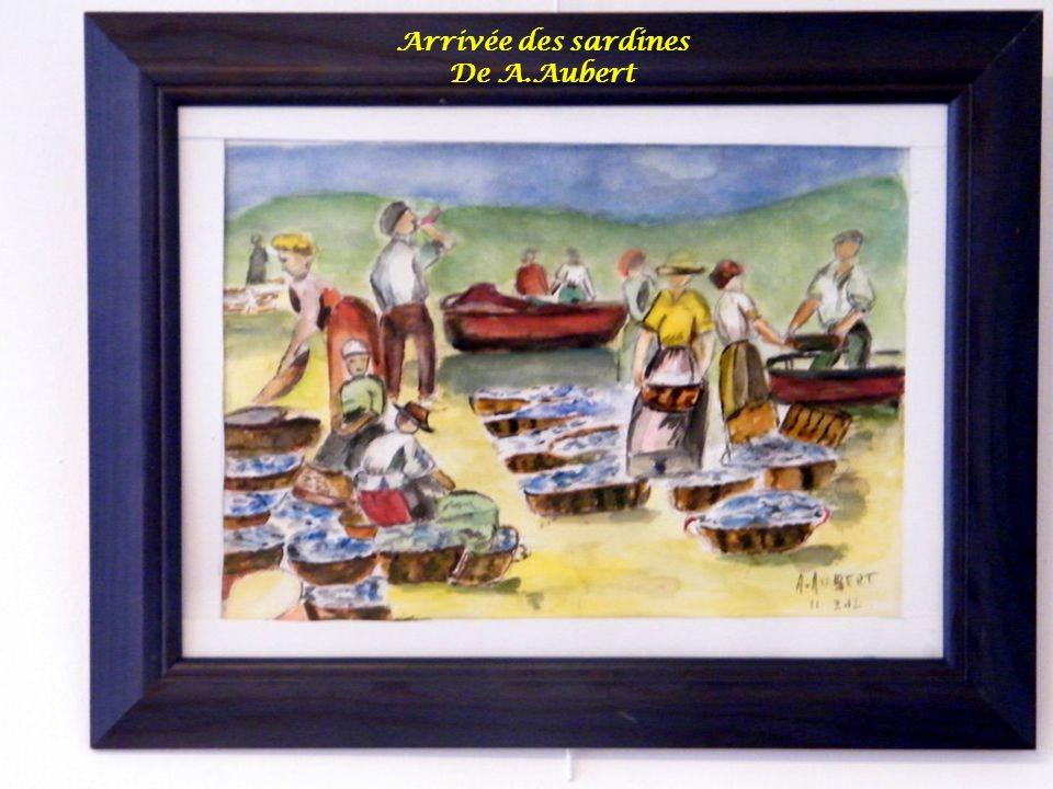 Arrivée des sardines De A.Aubert