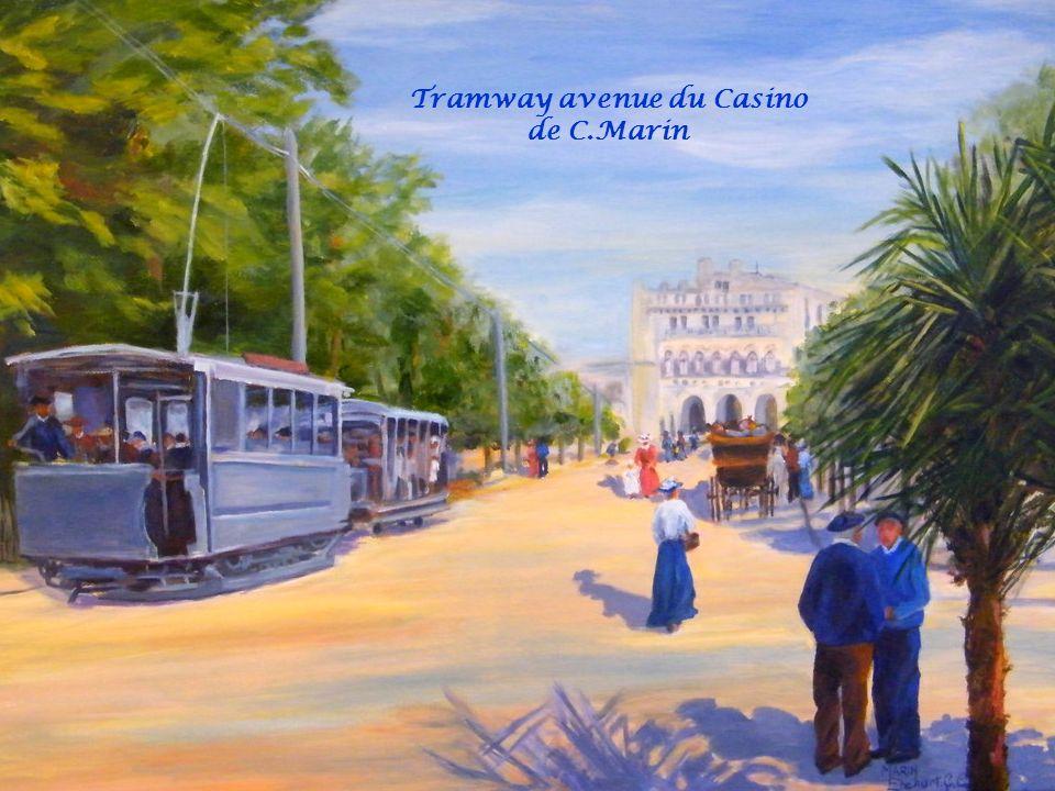 Tramway avenue du Casino