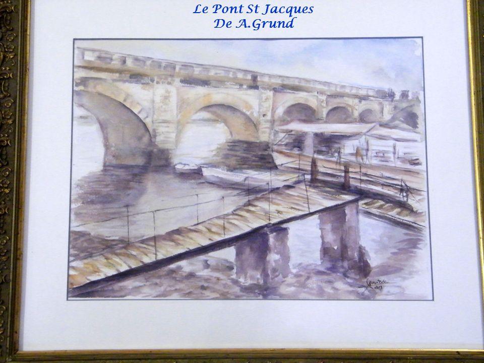 Le Pont St Jacques De A.Grund