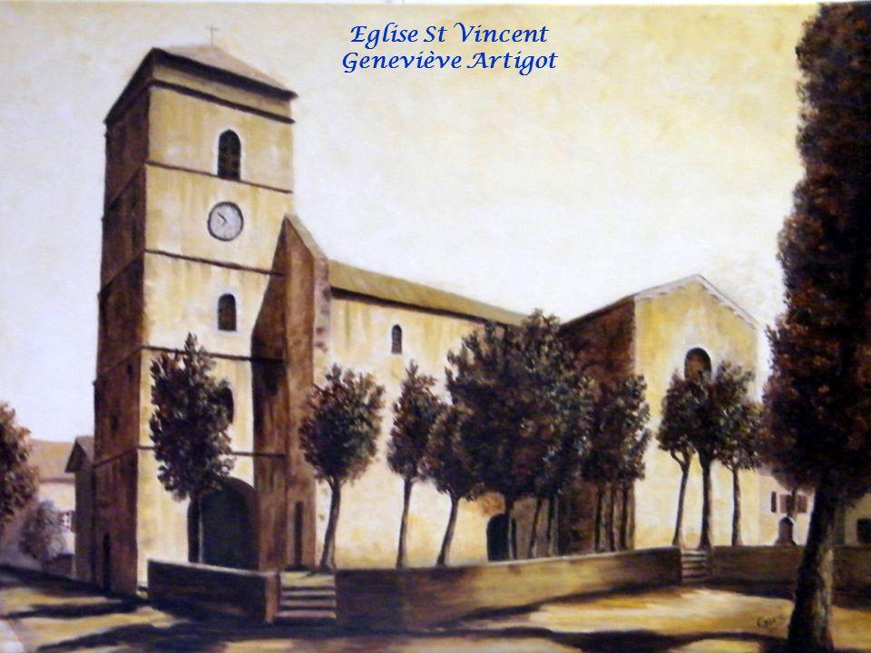 Eglise St Vincent Geneviève Artigot