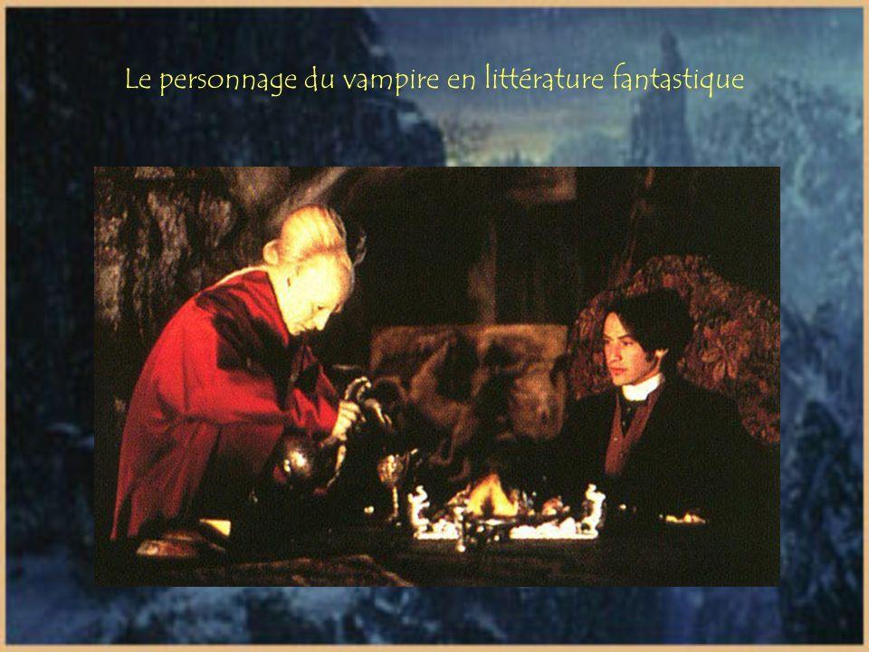 Le personnage du vampire en littérature fantastique