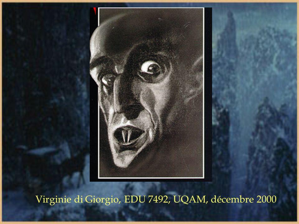 Virginie di Giorgio, EDU 7492, UQAM, décembre 2000
