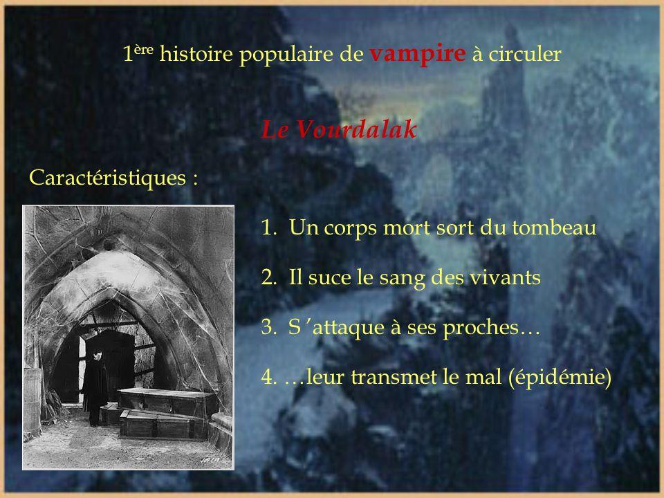 Le Vourdalak 1ère histoire populaire de vampire à circuler