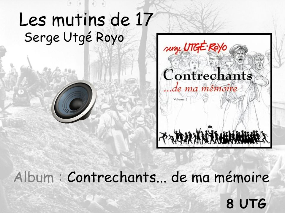 Album : Contrechants... de ma mémoire
