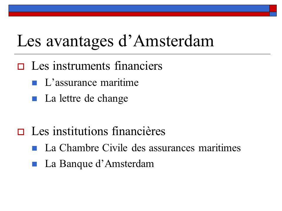Les avantages d'Amsterdam