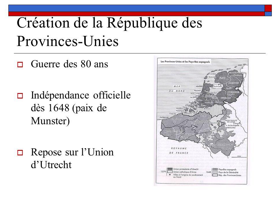 Création de la République des Provinces-Unies