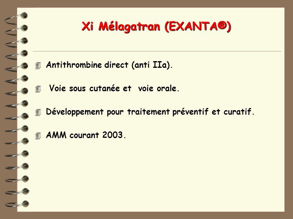 Xi Mélagatran (EXANTA®)