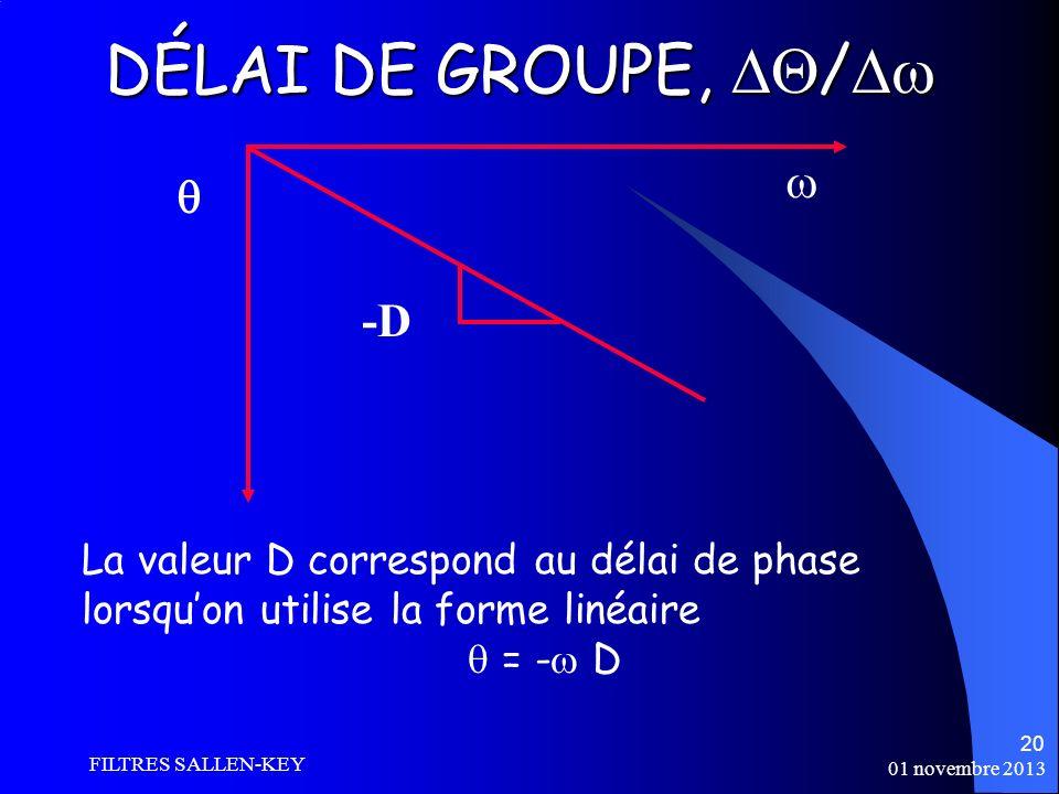DÉLAI DE GROUPE, /   -D