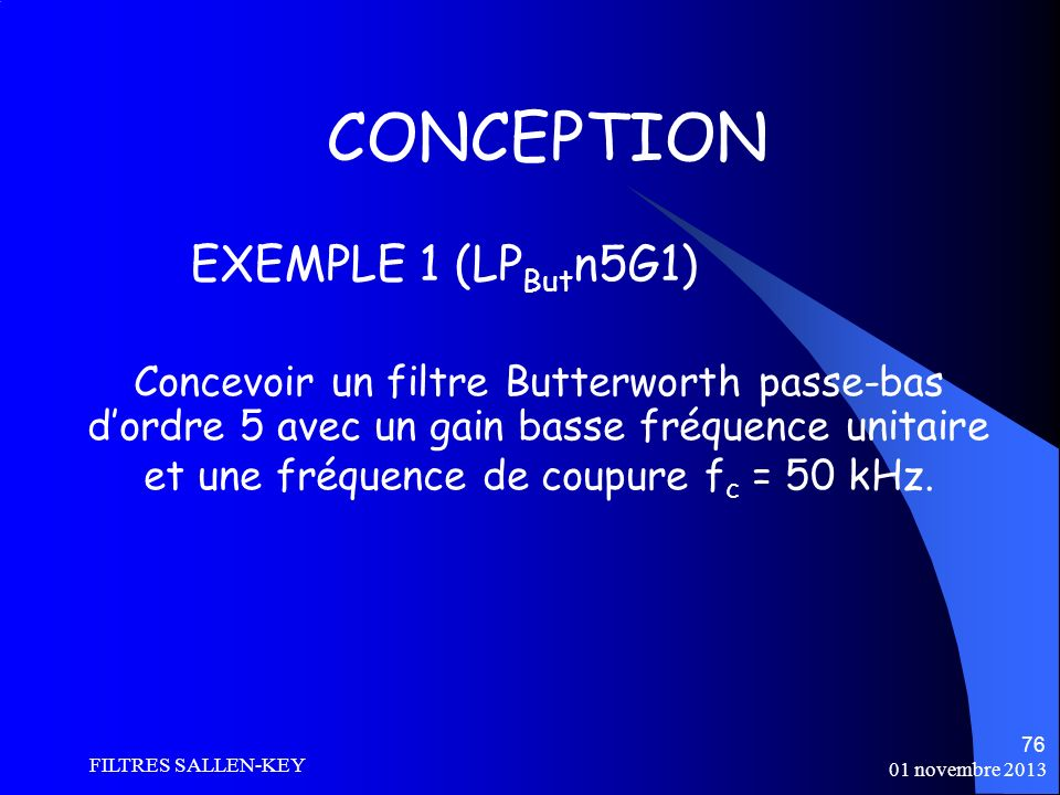 CONCEPTION EXEMPLE 1 (LPButn5G1)