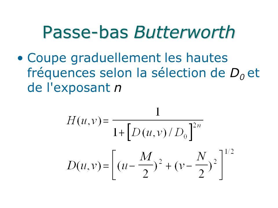 Passe-bas Butterworth