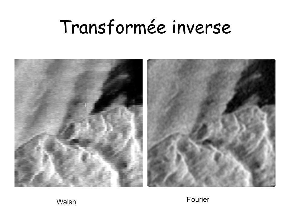 Transformée inverse Fourier Walsh