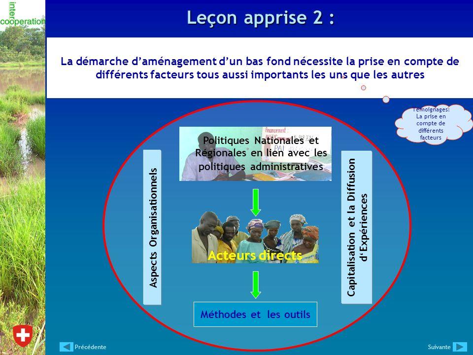 Capitalisation et la Diffusion d'Expériences Aspects Organisationnels