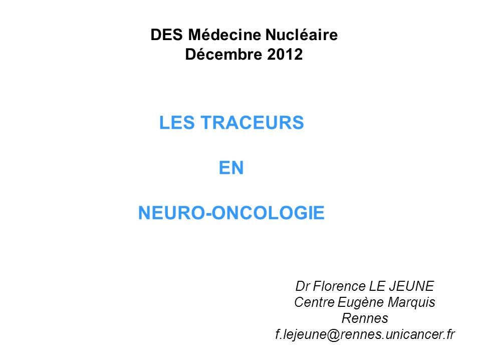 DES Médecine Nucléaire Décembre 2012