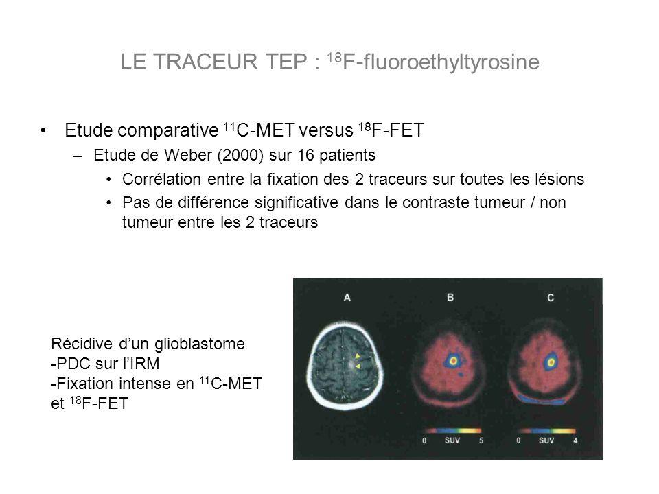 LE TRACEUR TEP : 18F-fluoroethyltyrosine