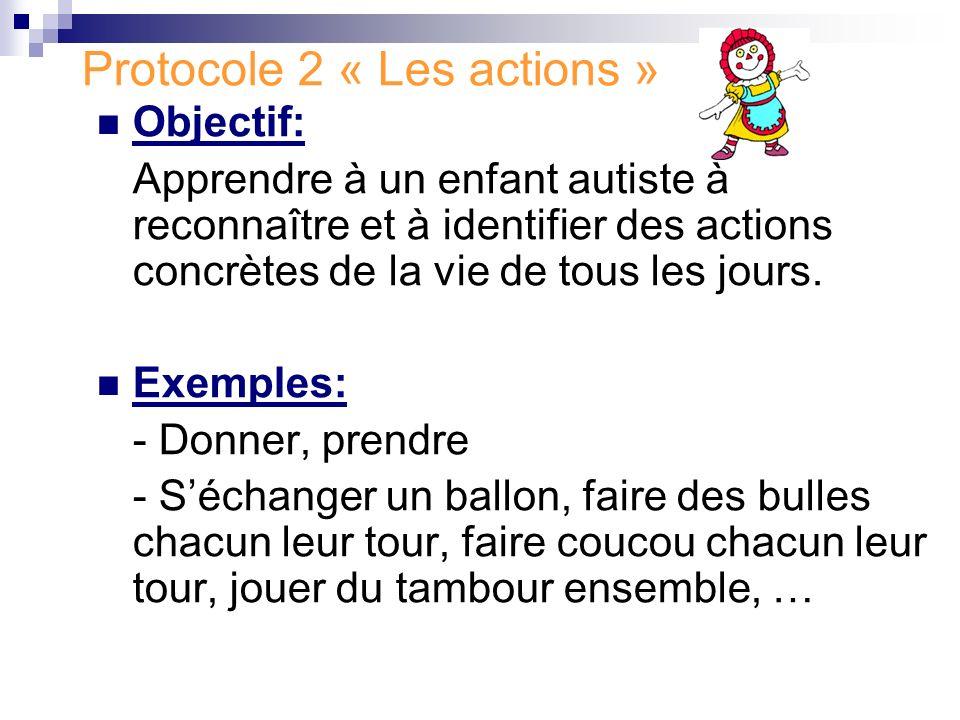 Protocole 2 « Les actions »