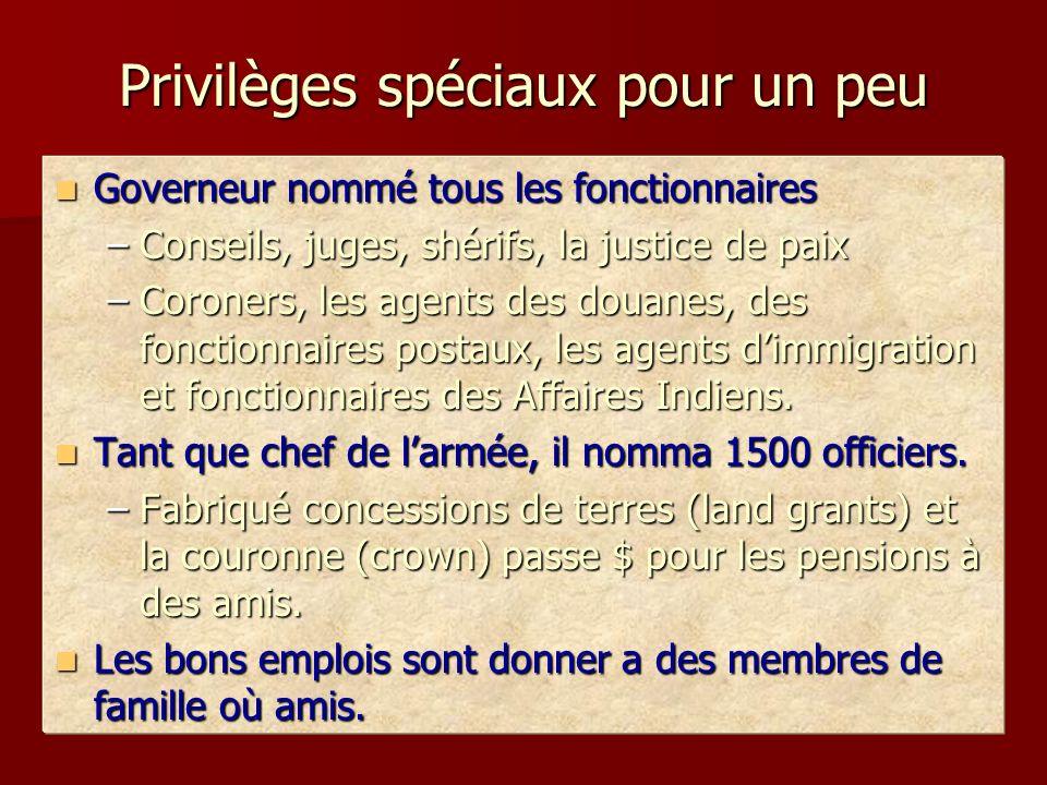 Privilèges spéciaux pour un peu