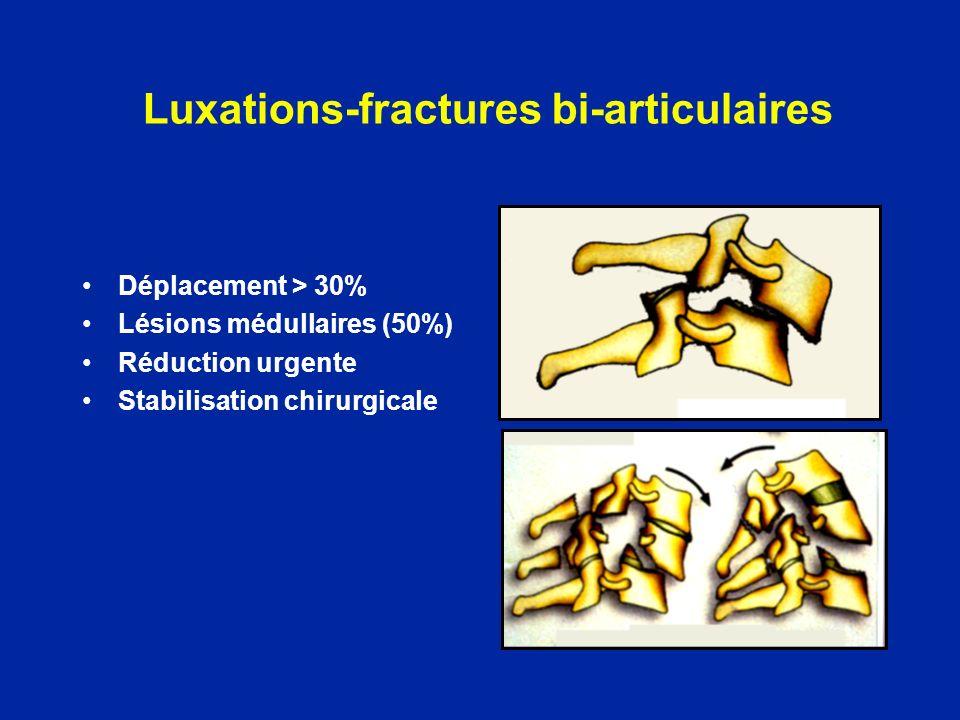 Luxations-fractures bi-articulaires