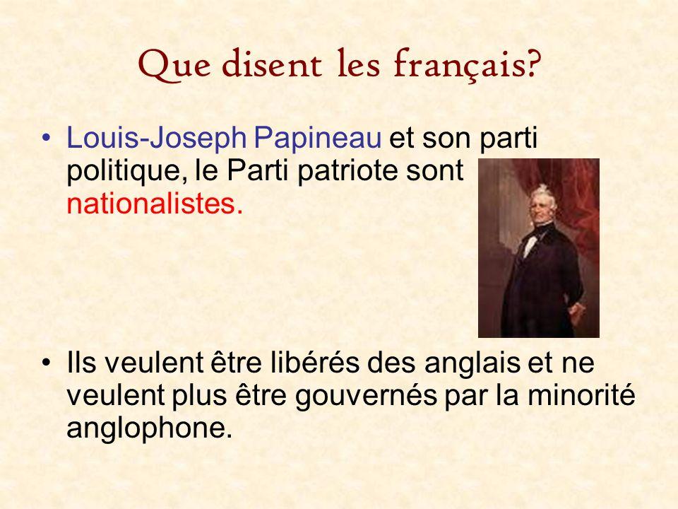 Que disent les français
