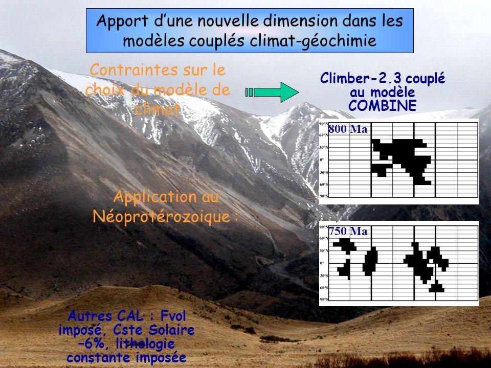 Climber-2.3 couplé au modèle COMBINE