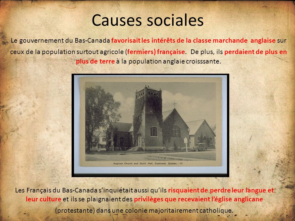 Causes sociales