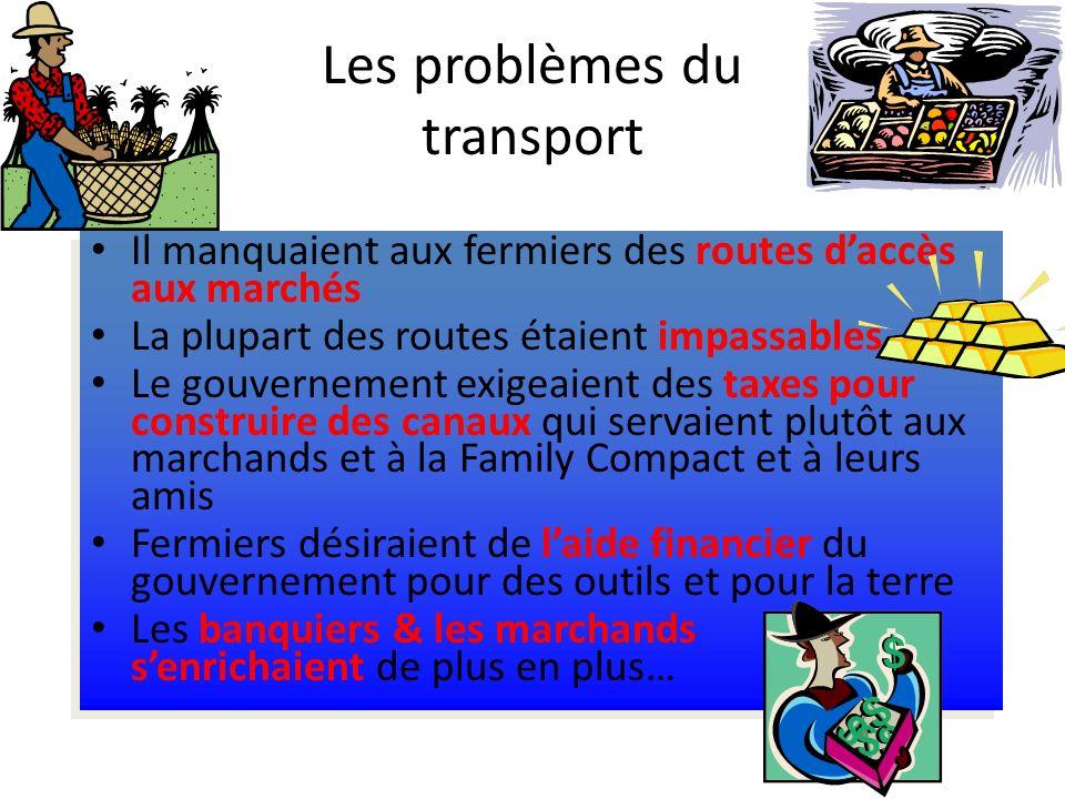 Les problèmes du transport